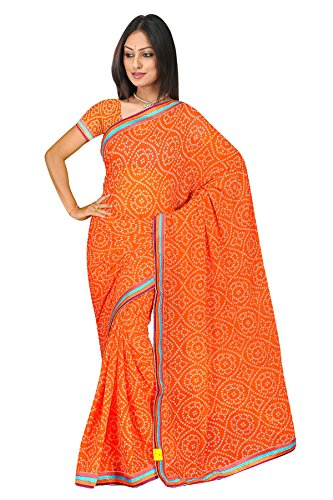 Sehgall Sarees Professionally Designed Indian Ethnic Jacquard Crepe Handloom Saree Pink