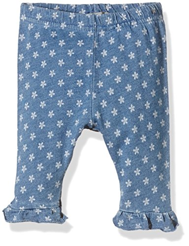 NAME IT Baby-Mädchen Short Nitiben NB CU Capri Ger 216, Mehrfarbig (Light Blue Denim), 56