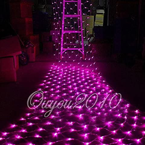100/300LED String Luce Natale Lampada Decorativa Netto partito decorazione