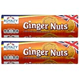 Royalty Ginger Nut Biscuit, 300g (Pack of 2)