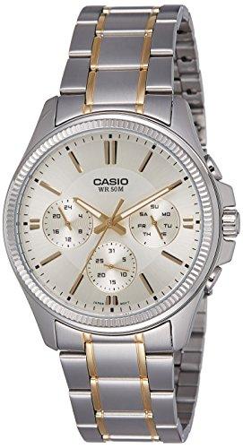 51a8cJ7gcBL - Casio Enticer Silver Mens MTP 1375SG 9AVDF watch