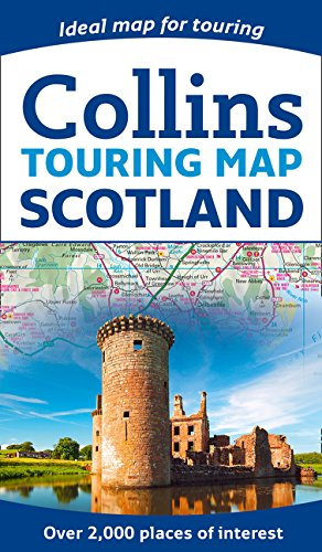 Scotland touring map