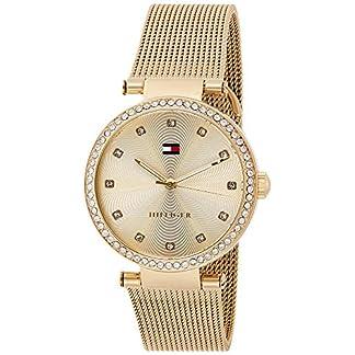 Tommy Hilfiger Reloj Análogo clásico para Mujer de Cuarzo con Correa en Acero Inoxidable 1781864