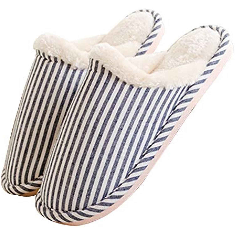 Xuxuou Pantoufles Pantoufles en Coton,Automne Hiver Coton Pantoufles Pantoufles Hommes Femmes Accueil Chaussons Chauds Confortable Anti... - B07GKZNPT4 - ee61f3