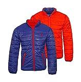 U.S. Polo ASSN. Jacke Wendejacke Padded Jacket 42966 51909 575 blau rot W18-USW1 Größe M
