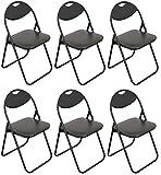 Best Chaises pliantes - Chaise pliante rembourrée - pour le bureau Review