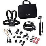 Rollei Actioncam Mount Set Outdoor - Kit d'Accessoires d' Activités d'Extérieur- Pour Caméras d'Action Rollei et GoPro