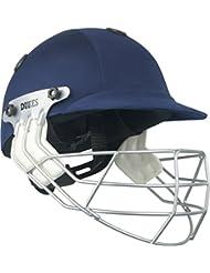 Dukes leyenda críquet deporte accesorios casco protector para casco de protección, color azul marino, tamaño infantil