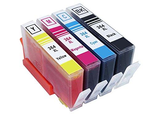 TIAN - 4 HP Combo Pack Kompatibel 364 XL Tintenpatronen, zu ersetzen...