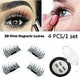 SBE 3D Magnetic short Fake Eyelashes,Reusable False Eyelashes, No Glue Lash Enhancer Beauty