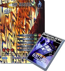 Doctor Who - Single Card : Ultimate Monsters 066 (666) The Master Pre-Regeneration Dr Who Battles in Time Super Rare Card