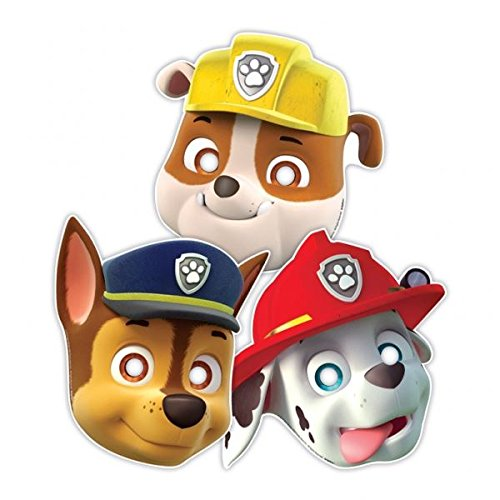 amscan-international-8-paw-patrol-paper-masks