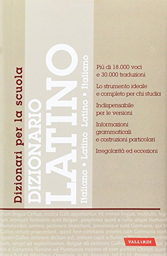 Dizionario latino a scuola