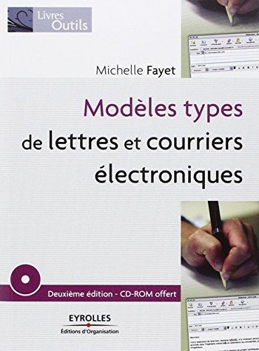 Modèles types de lettres et courriers électroniques (1CD audio) par Michelle Fayet