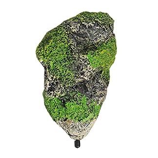 0930 Classic Castle Ruins 30 Ltr Biorb Aquarium Ornament, L13.5 x W12.5 x H22.5cm, Stone/Green 51a8pfC 2uL