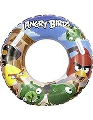 AQUA-SPEED® ANGRY BIRDS Accessoires de natation (Flotteurs de natation Anneau de la natation grand/petit Ballon de plage Soupapes de sécurité PVC + UP®-Autocollant)