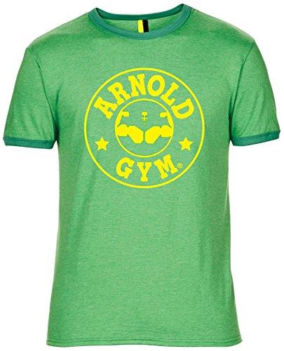 Da uomo Arnold Palestra Bodybuilding muscolare lavoro Formazione Logo Classico