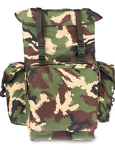 ZQ 70 L Tourenrucksäcke/Rucksack / Rucksack Camping & Wandern Draußen Multifunktions Tarnfarben Leinwand Other jungle camouflage