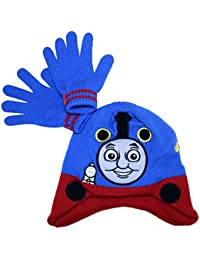 Hit Entertainment Official Licensed Boys Thomas The Tank Engine Winter Hat and Gloves Set Age 3-6 Years
