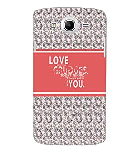 PrintDhaba Quote D-5750 Back Case Cover for SAMSUNG GALAXY MEGA 5.8 (Multi-Coloured)