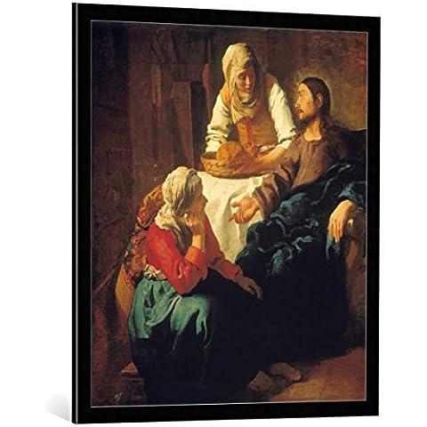 Quadro con cornice: Jan Vermeer van Delft