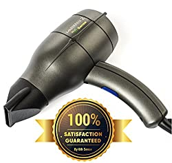 6th Sense Styling Technology 1875 Watts , Gray : 6th Sense Professional Ionic Hair Dryer Handmade in France; 1875 Watt Salon Workhorse; Dual Ion Generator, Ergonomic Design Legendary Workmanship (Gray)