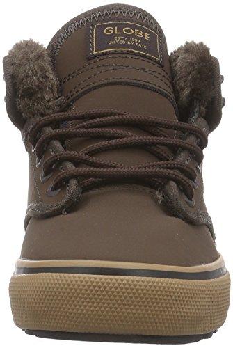 Globe Motley Mid, Sneakers Hautes Mixte Adulte Marron (17257 Brown/brown Fur)