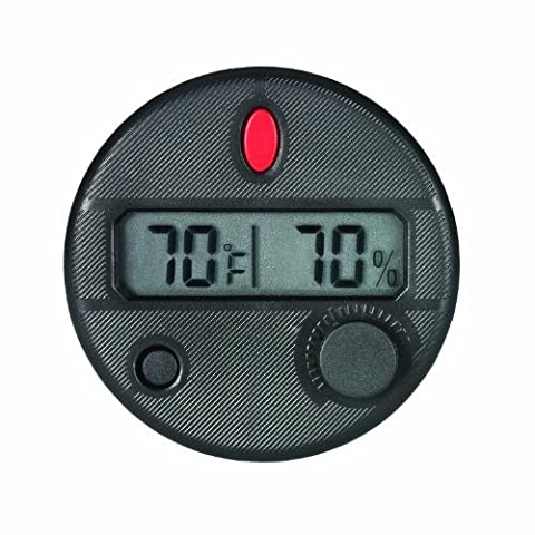 HygroSet DHYG-FM Adjustable Digital Hygrometer for Front Mount Humidor by Hygroset
