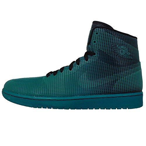 AIR JORDAN 1 4LAB1 'TROPICAL TEAL' - 677690-020 blue