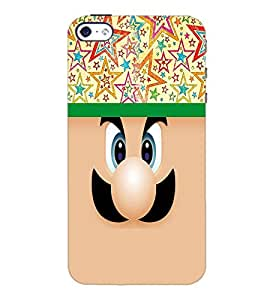 PrintDhaba Cartoon D-3744 Back Case Cover for APPLE IPHONE 5S (Multi-Coloured)