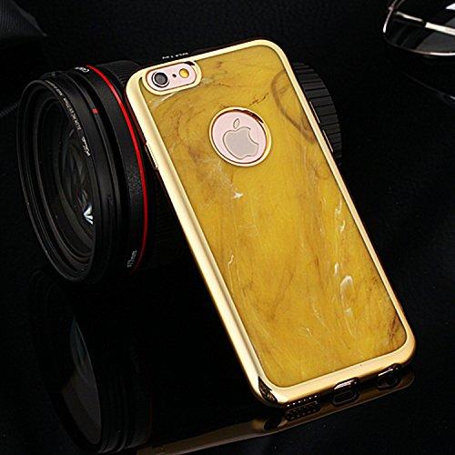 Wkae iphone 6 / 6s, coloré bowlder electroplate caoutchouc silicone schéma tpu doux pour la peau cas sur iphone 6 / 6s Wkae Case Cover ( PATTERN : 4 , Size : IPhone 6/6S ) 1