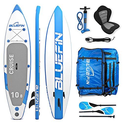 Bluefin Tabla de Paddle Surf Hinchable Híbrida Convertible en Kayak con Tabla...