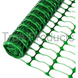 **Free Delivery** Green Plastic Mesh Barrier Safety Fence Netting Standard - 50m Roll