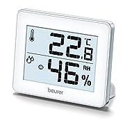 Beurer HM16 - 679.15Beurer HM16 - 679.15Specifiche:LineaTermoigrometro digitaleTipologiaTermoigrometro digitaleMisureRange di misurazione temperatura: tra 0℃ e +50℃ Precisione di misurazione: ±0,1℃ Range di misurazione umidità: tra 20% e 95% ...