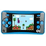 QINGSHE Retro Portable Game Console, 2.5 inch Screen 182 Games Built in Handheld Game...