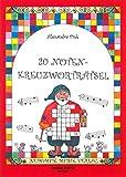 Cover of: 20 Noten-Kreuzworträtsel - Rätselhefte zum Ausfüllen von Noten-Kreuzworträsteln Heft 1 (MN 12065) | Alexandra Fink