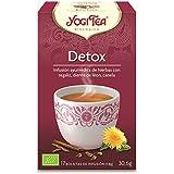 Yogi Tea - Detox, Infusión Ayurvédica de Hierbas con Regaliz, Diente de León y Canela - 17 Bolsitas, 30,6g