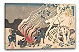 Katsushika Hokusai - 百人一首 うはかゑとき 源宗于朝臣 Gedicht von Minamoto no Muneyuki Ason, aus der Serie