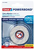 Tesa 55732-00002-02 Powerbond Montageband für Spiegel, stark, 1,5mx19mm