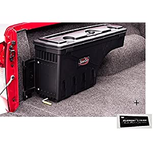 Stau Box lato passeggero Swing Case Nissan Navara D40+ Elemento Trade Sticker