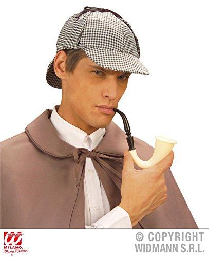 3 Teile *** ANGEBOT *** - DETEKTIV - ( Mütze + Lupe + Pfeife ) Privatdetektiv Verfilmung Kombinationen Kostümkombinationen (Frauen Sherlock Kostüm Holmes)