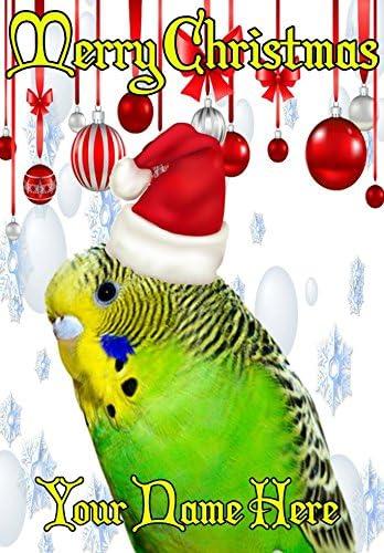 perruches Nnc49 Nnc49 Nnc49 humoristique carte de Noël Format A5 Cartes de vœux Publiés par nous Cadeau personnalisé pour tous 2016 à partir de Derbyshire britannique | Respectueux De L'environnement  7bcf27