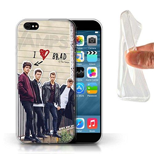 Offiziell The Vamps Hülle / Gel TPU Case für Apple iPhone 6 / Pack 5pcs Muster / The Vamps Geheimes Tagebuch Kollektion Brad
