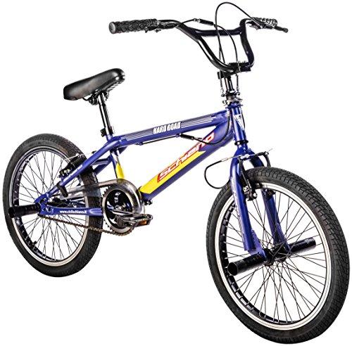 F.lli Schiano Hard Road BMX Bicicleta, Hombre, Negro/Verde, 20'