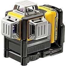 DeWalt DCE089D1R-QW - Láser autonivelante de 3 lineas de 360º - Incluye batería DW 10,8V Litio - ROJO