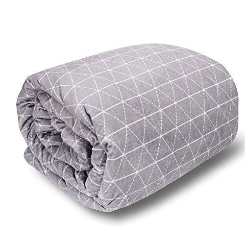 rocabi Premium Beschwerte Decke für Erwachsene 15 lbs (80