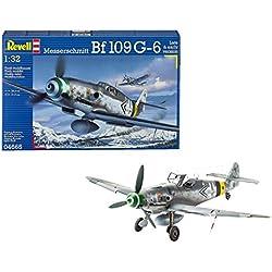 Revell- Messerschmitt Bf109 G-6 Late & Early Version, Kit de Modelo, Escala 1:32 (4665) (04665)