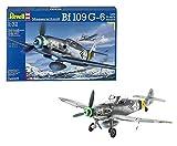 Revell Modellbausatz Flugzeug 1:32 - Messerschmitt Bf109 G-6 Late & early version im Maßstab 1:32, Level 5, originalgetreue Nachbildung mit vielen Details, 04665