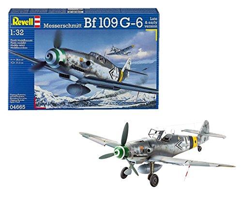 Revell - Maqueta Messerschmitt Bf109 G-6 Late & Early version, escala 1:32 (04665)