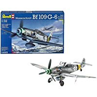 Revell - Maqueta Messerschmitt Bf109 G-6 Late & Early version, escala 1:32 (04665)